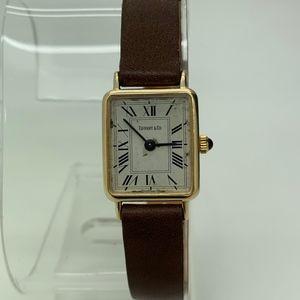 Tiffany & Co. 14 KT Gold Quartz Women Watch